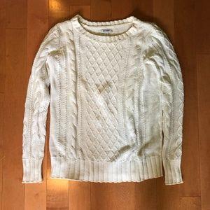Cream Crewneck Sweater Old Navy Small
